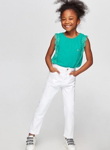 Tyess Tyess B&G Yeşil Kız Çocuk Bluz Yeşil